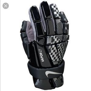 Nike Lacrosse Vapor LT Warrior Burn PRO Gloves
